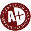 A+ Certified Service Technician
