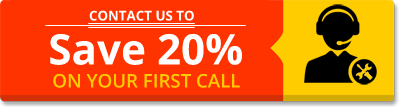 20% Discount on First Call